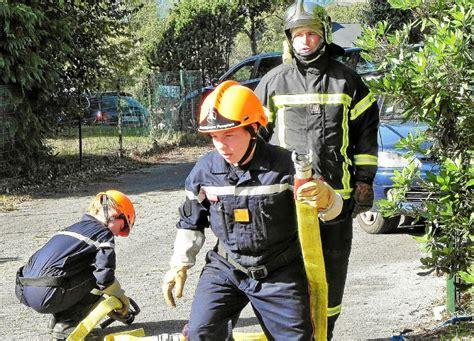 foto de Le Télégramme Gourin Pompiers 300 personnes aux