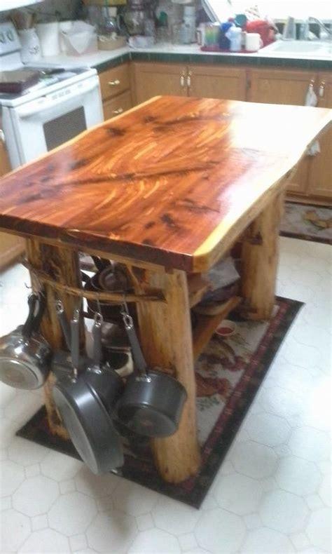 cedar kitchen island backwoods cedar home 2033