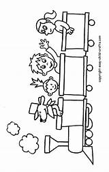 Coloring Pages Train Printable Trains Caboose Children Clipart Drawings Engine Easy Crafts Preschool Clip Colouring Winter Child Printables Cliparts Fun sketch template