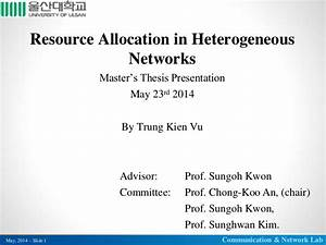 resource allocation in heterogeneous networks With dissertation defense powerpoint template