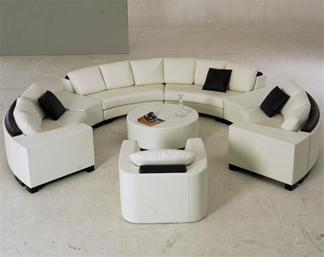 Tufted Velvet Sofa Furniture by Semi Circular Sofas Circle Sectional Sofa Foter Thesofa