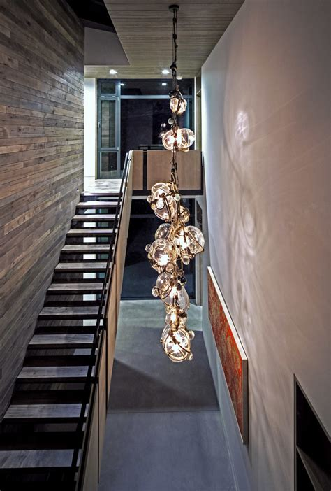 funky pendant lights modern hanging lights staircase contemporary with rustic