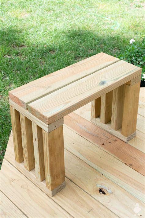 Diy Garden Bench by Scrap Wood Outdoor Bench Seat Diy Garden Bench Plans
