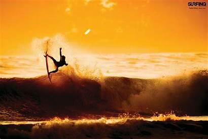 Surfer Beach Surfing Magazine Wallpapersafari Issue