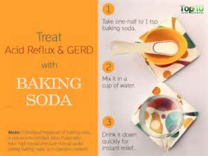 Acid Reflux Baking Soda Remedy