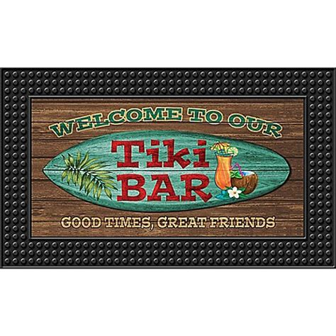 Led Doormat by Tiki Bar18 Inch X 30 Inch Led Door Mat Bed Bath Beyond