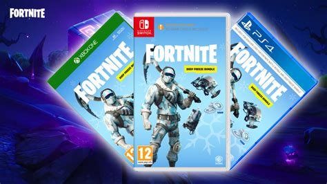 fortnite guide whats   physical deep freeze bundle