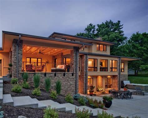 Hillside Walkout Basement House Plans Modern House Zion