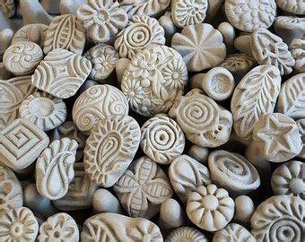 handgefertigte stempel fuer keramik clay stempel von