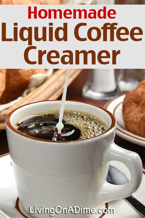 These 7 recipes use coffee creamer to create sweet and flavorful waffles, pancakes, cookies, muffins, cakes, and brownies. Liquid Coffee Creamer Recipe - Living on a Dime