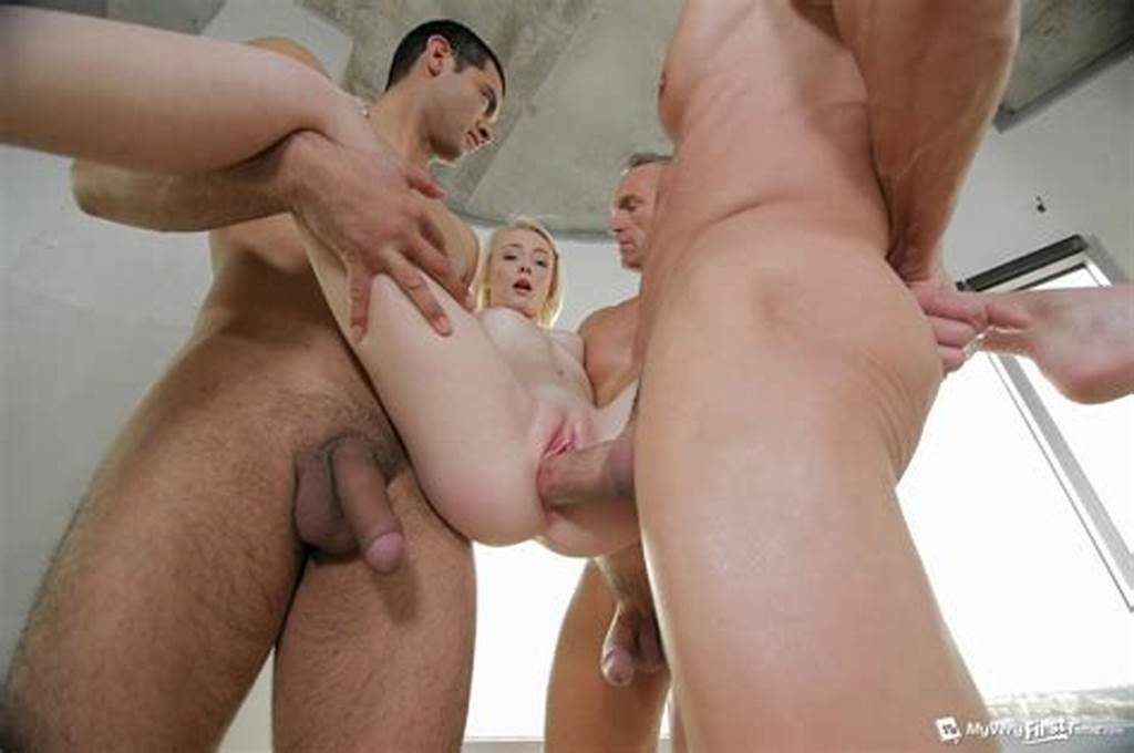 #Blonde #Spinner #Maddy #Rose #Fulfills #Her #Gangbang