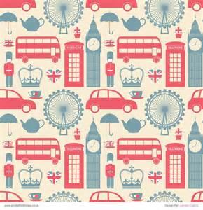 pocket fold invitations patterned paper london calling