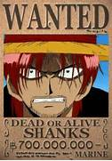 AnimeLove   One Piece ...One Piece Shanks Crew Bounty