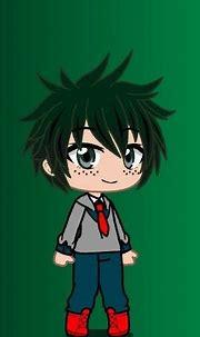 Izuku midoriya (deku) | Anime wolf girl, Anime drawings ...