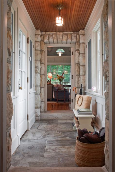 entry hallmudroom rustic entry boston