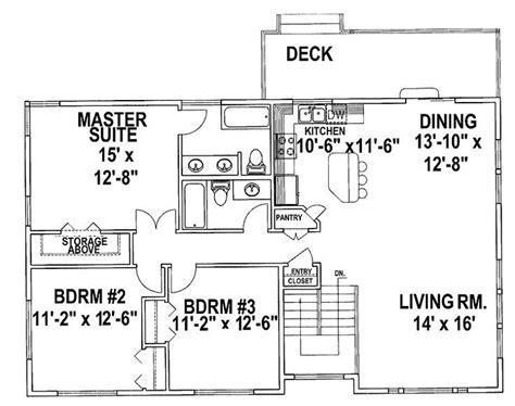 1970s Tri-level House Plans
