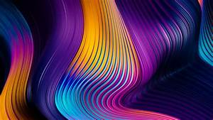 Colors, Falling, From, Top, Abstract