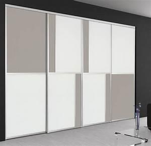 Porte Coulissante Miroir Sur Mesure : dressing sur mesure nos types de portes hom in ~ Premium-room.com Idées de Décoration