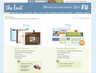 Theknot Websote Templates by Blog 171 Marigold Events