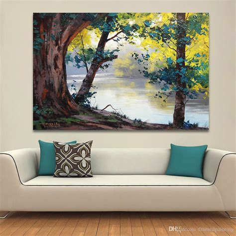 Paintings Home Decor by 2019 Landscape Painting Home Decor Wall Pictures For