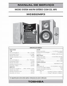 Toshiba Mc852 Mp3  Service Manual  Repair Schematics