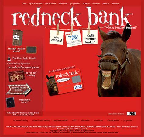 redneckbank  real mccoy bank domain domaingang