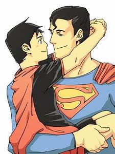 Young Justice Superboy And Superman | www.pixshark.com ...