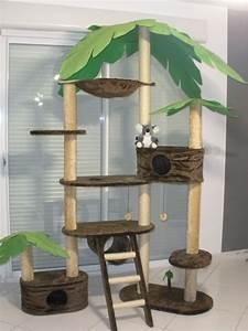 Arbre à Chat Fait Maison : arbre a chat plante ~ Melissatoandfro.com Idées de Décoration
