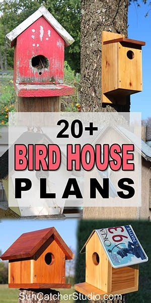 bird house plans   beginner birdhouse designs