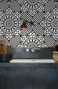 Tapisserie Pour Cuisine : les 25 meilleures id es concernant papier peint rustique ~ Premium-room.com Idées de Décoration