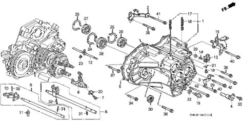 Honda Accord Parts Diagram Exhaust