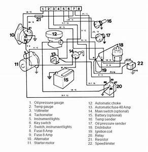 Wiring Diagram Volvo Pentum D275