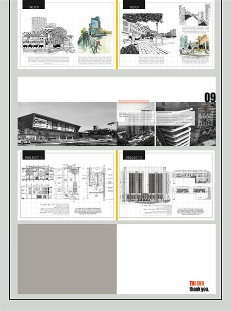 behance architecture undergraduate portfolio  behance