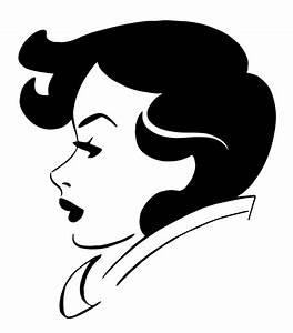 Clipart - Woman's face