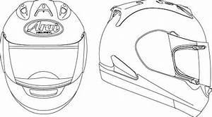 Bike Helmet Drawing At Getdrawings