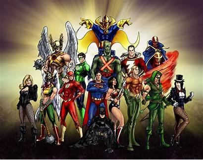 Justice League Wallpapers Deviantart Dc Comics Main