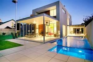 photo de maison design With jardin et piscine design 15 les maisons americaines