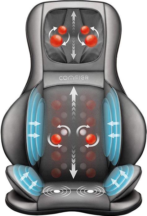 Comfier Neck And Back Massager With Heat- Shiatsu Massage