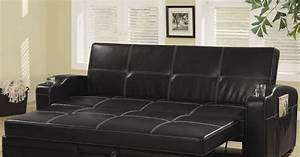 click clack sofa bed sofa chair bed modern leather With leather sectional sofa with pull out bed