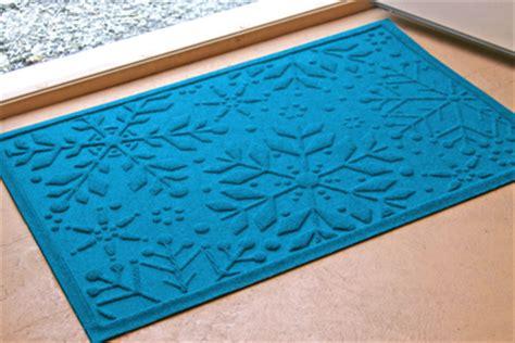 snowflake doormat waterguard welcome mats snowflake mat sku mt 2645