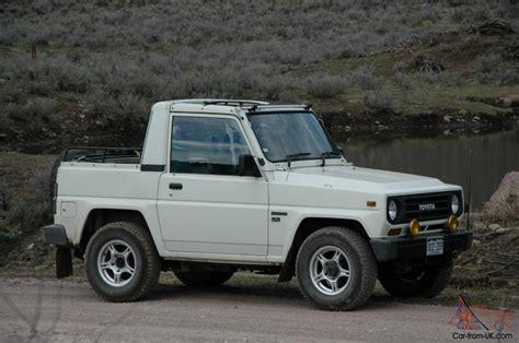 toyota blizzard diesel  soft top land cruiser jeep