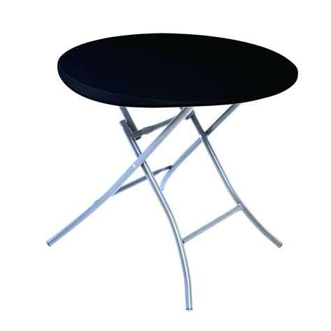 lifetime black folding table 80351 the home depot