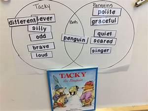 Tacky The Penguin Story And Venn Diagram   Language