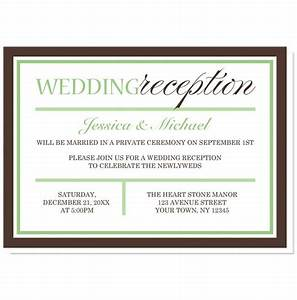 Wedding reception only invitation wording samples for Samples of wedding invitations wording with reception
