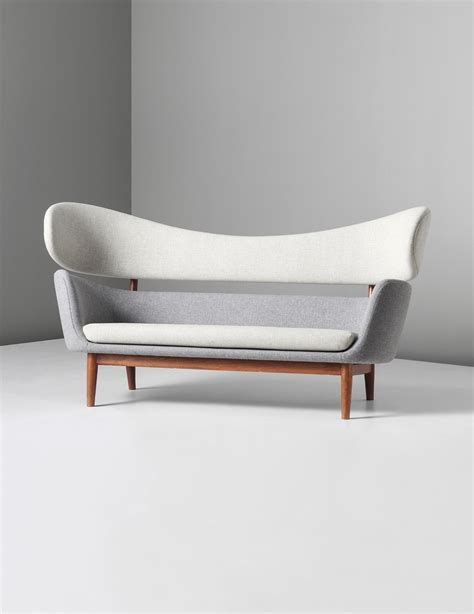 Finn Juhl Sofa by Scandinavian Collectors Finn Juhl Baker Sofa Circa