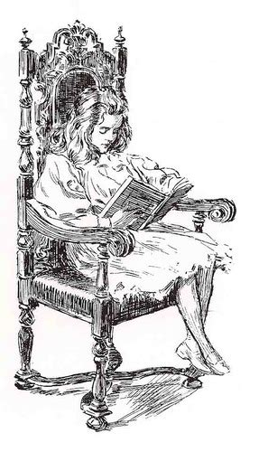 ready    fashioned illustrations  books reading