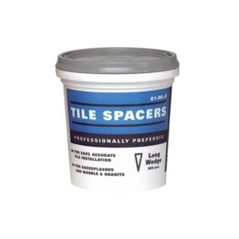 home depot tile spacers 332 custom building products superiorbilt wedge spacers