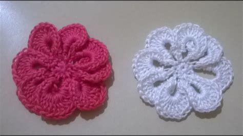 fiori a uncinetto tutorial fiore uncinetto tutorial tutorial crochet