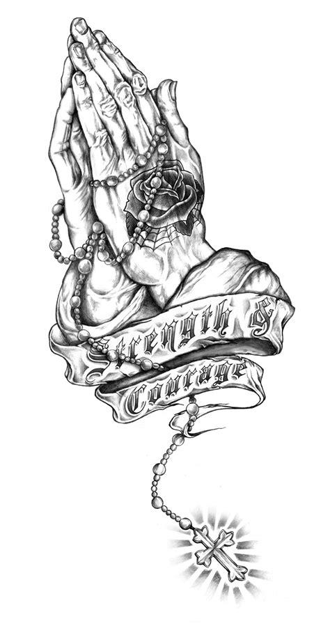 Strength & Courage #pray #illustration #art #pencil #