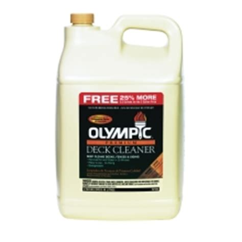 Olympic Deck Cleaner Directions by Composite Deck Olympic Premium Composite Deck Cleaner